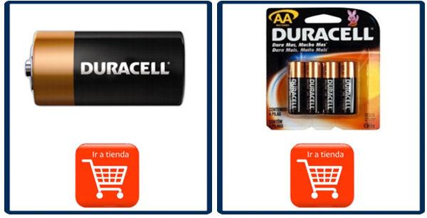 Distribuidor de pilas duracell todos los tama os con un for Tamanos de pilas