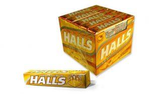 caramelo-halls-miel-limon-golosina