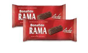 chocolate Bonafide rama leche golosina