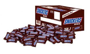 chocolate mars snickers 24 unidades venta