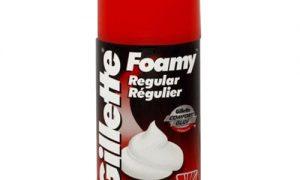 gillette-espuma-foamy-regular-mayorista