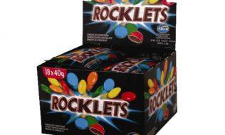 golosina rocklets negro venta
